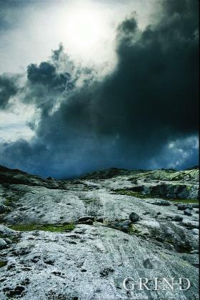 Urtidsfjell – gneis fra vestlige deler av Stølsheimen.