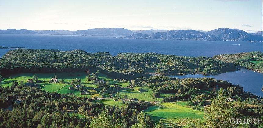 Morenejorda på Lunde har skapt noko av det beste jordbrukslandet på Tysnes