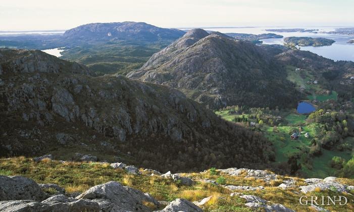 Frå Gaustadfjellet mot nord