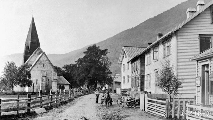 Vossevangen kring 1890