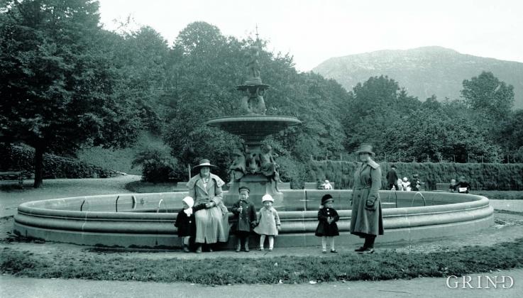 Nygårdsparken på 1920- tallet.