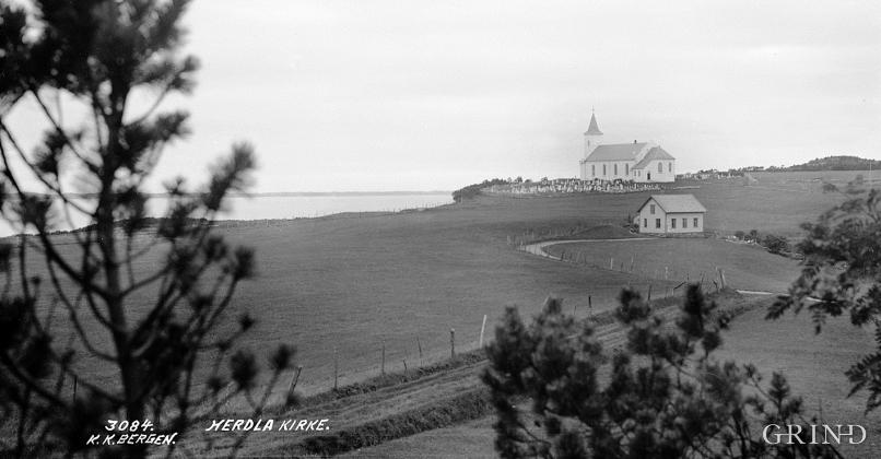 Herdla kyrkje frå 1863