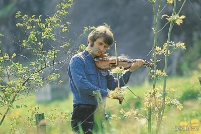 Fiddler Knut Hamre from Granvin