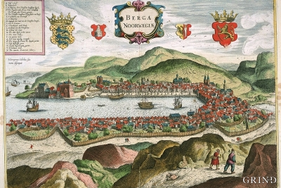 Hieronimus Scholaeus' prospect of Bergen