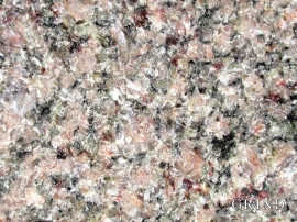 Granitt  er for det meste kvit eller raudleg av kvarts og feltspat.
