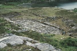 Utgraving av langhustufta, Høybøen