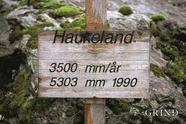 Haukeland er ein våt stad som kan skilta med fleire nedbørsrekordar