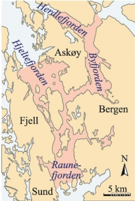 Kart over forbudssonen mot yrkesfiske.