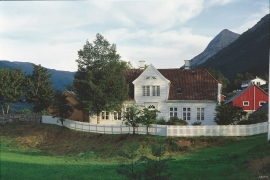 The captain's farm at Fet in Uskedalen