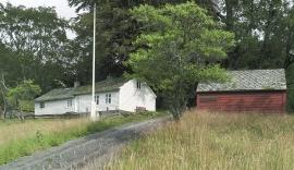 The dwelling house at Rød, Kvinnherad