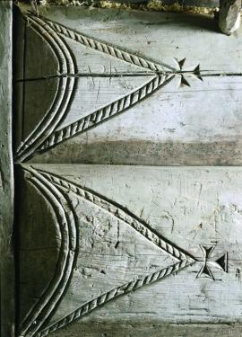 Detail from smokehouse, Arnatveit, Bergen