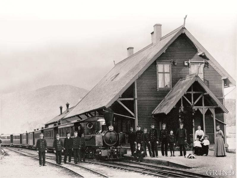 Os stasjon