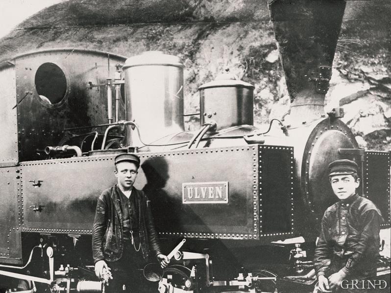 Lokomotiva var bygde i Belgia