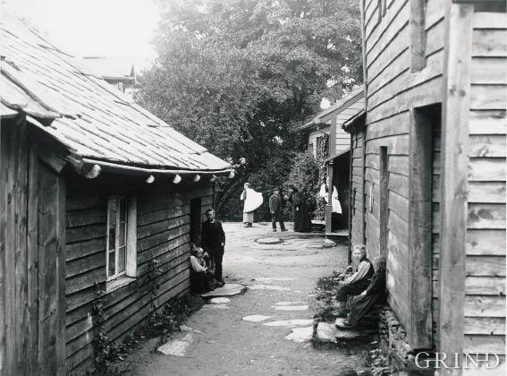 Vikøy prestegard i Kvam, 1898
