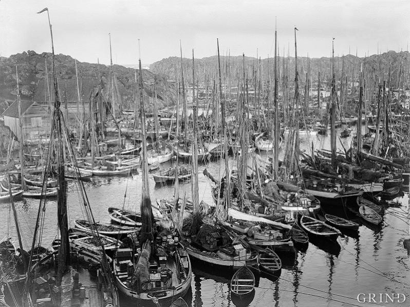 Suggevågen, Røvær 1909