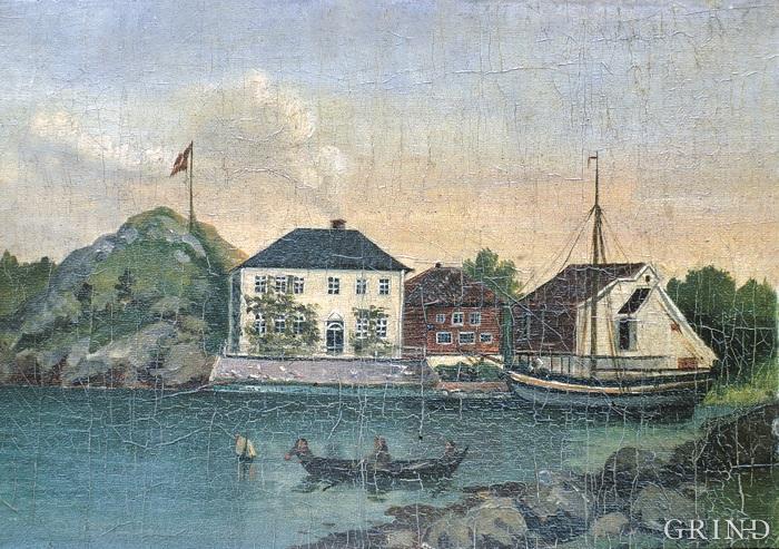 Bukken, «Buch van Raa» i Raunefjorden