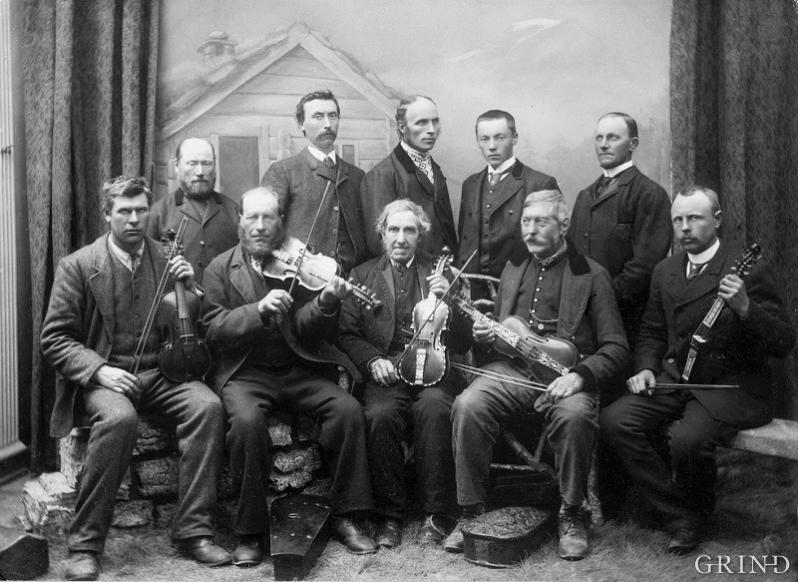 Vestmannalaget sin første kappleik i Bergen i mai 1896