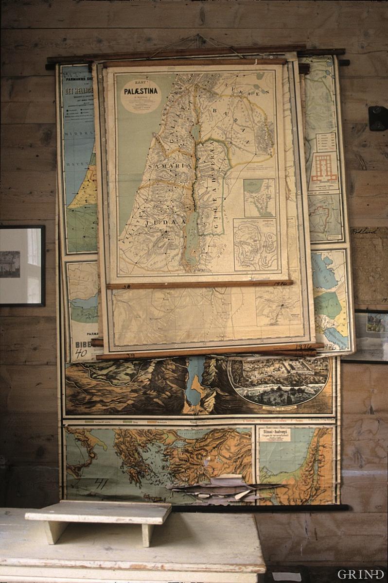 Kart over Palestin