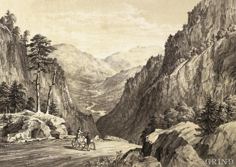 Sketches in Norway: taken during a Yachting Cruise in the summer of 1852.