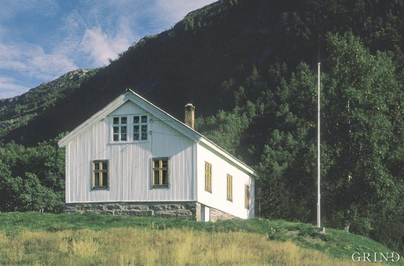 Heimen til Olav Nygard i Modalen