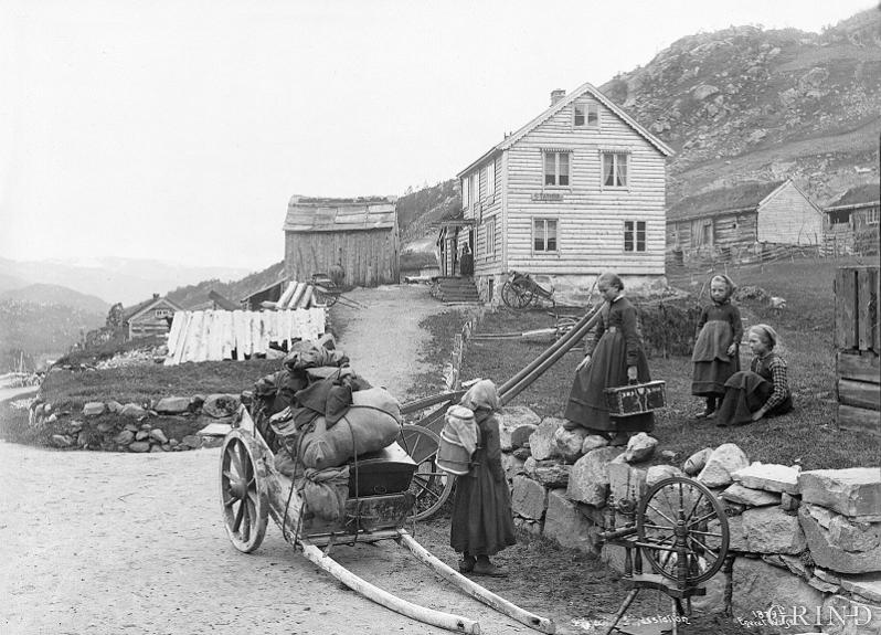 The coaching station at Seljestad