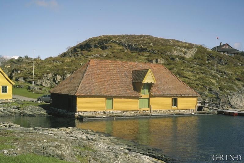 Sjøbua i Trellevik i Sund