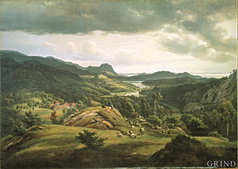 J.C. Dahl: Fra Lysekloster