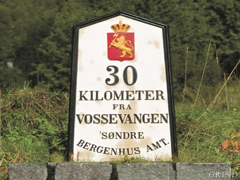 «30 kilometer fra Vossvangen»