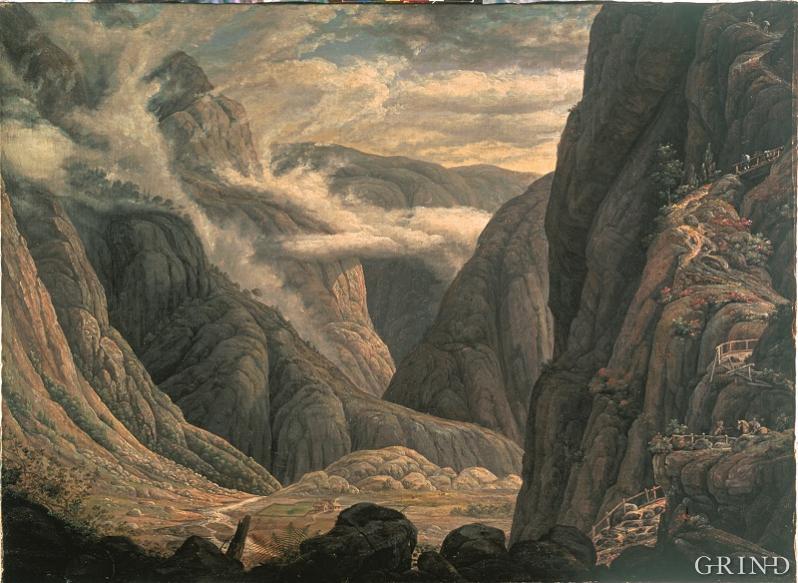 «Nedgangen til Hardanger»