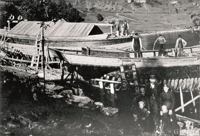 Bakkeverven i Strandebarm, ca. 1902-1903