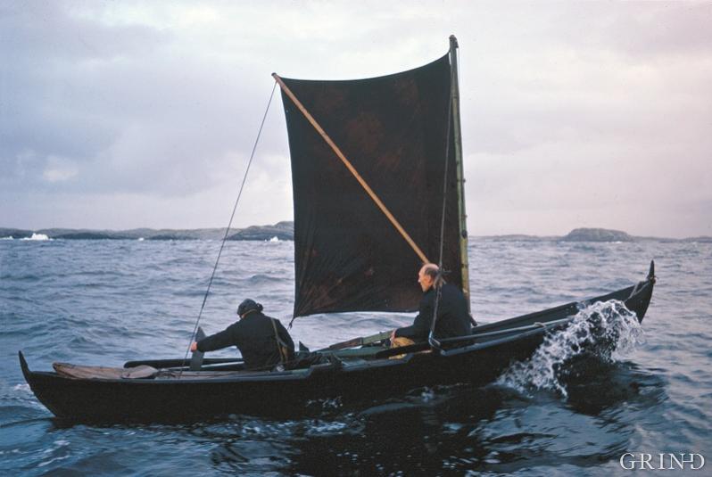 Oselveren er også en glimrende seilbåt