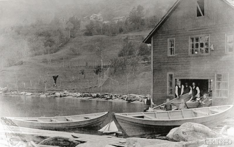 Båtbyggerverkstedet til Torgeir Oma