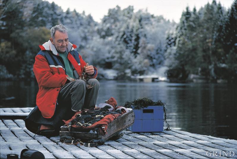 Hummerfisker og pensjonist Per Halhjem