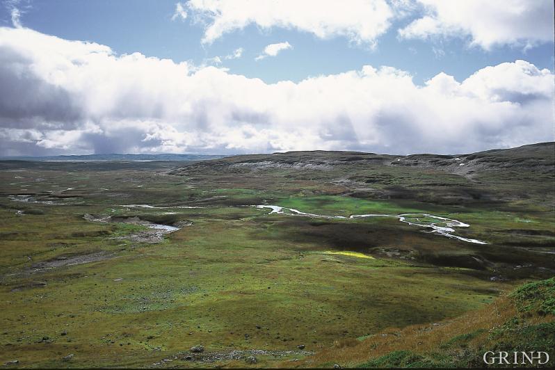 Sildabudalen i Eidfjord, mot vest