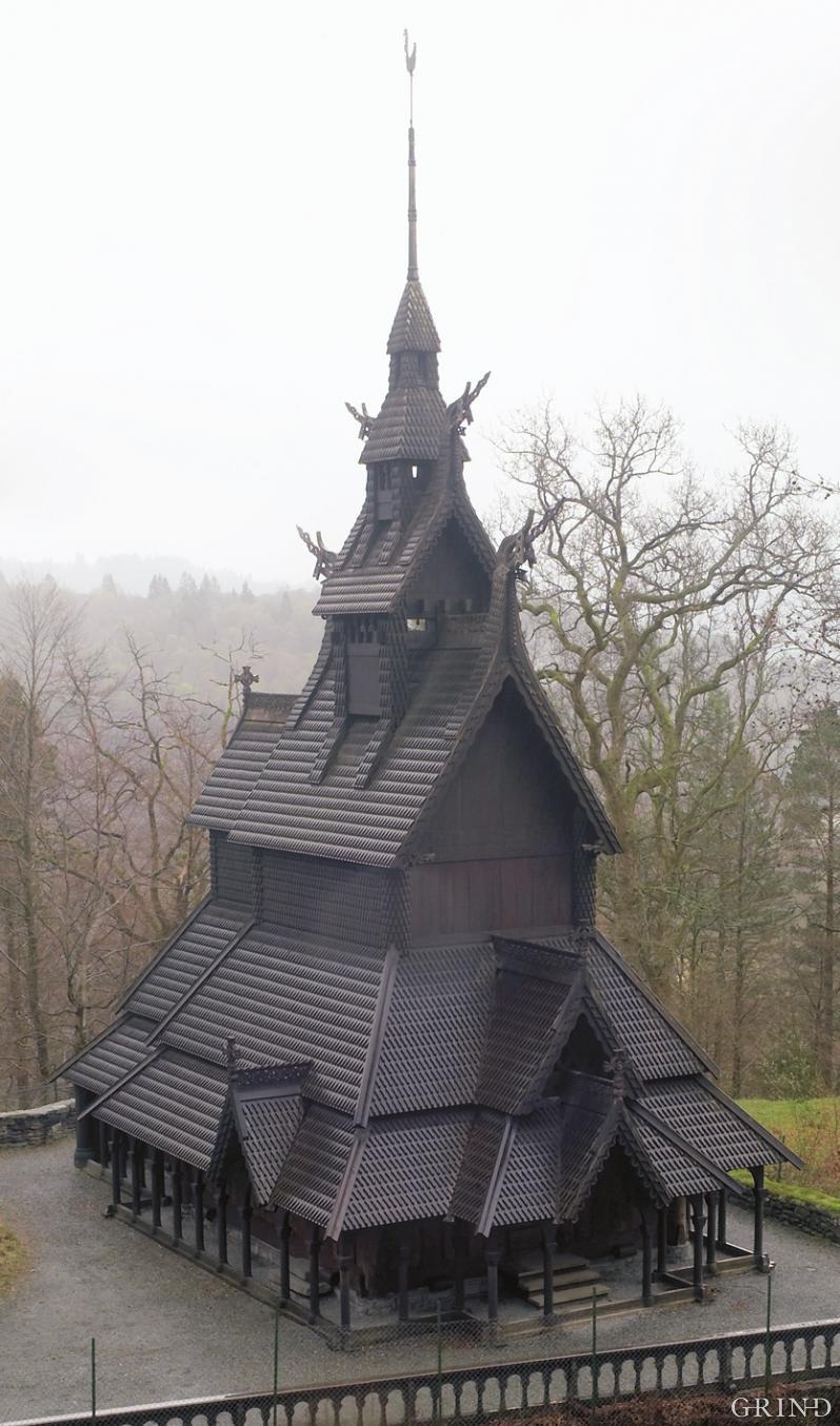 Stavkirken på Fantoft