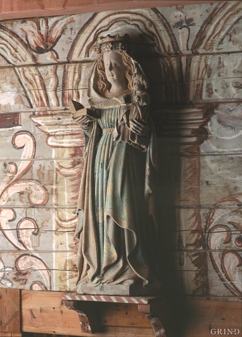 Madonnafiguren i Holdhus kirke