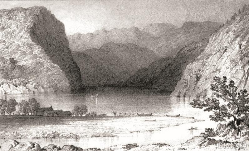 Bolstadøyri, endestoppen for Vossevassdraget.