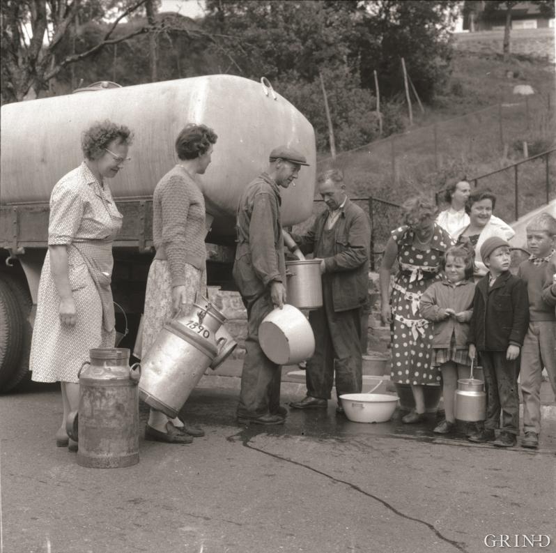 Vannrasjonering i 1950-årene