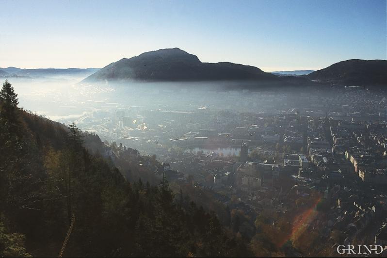 «Lokket» over Bergen