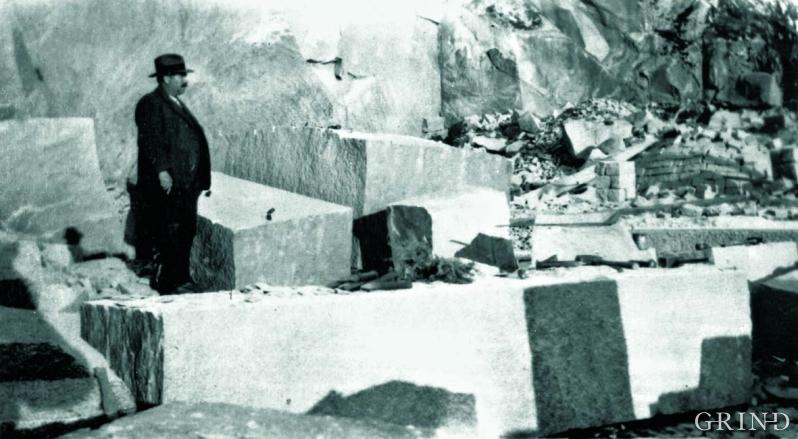 Trygve Hereid, eieren av granittbruddet i Eidfjord.